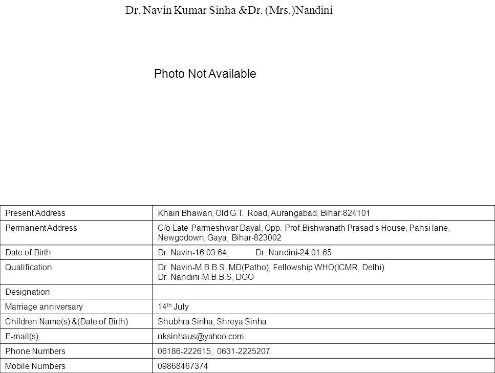 Present AddressKhairi Bhawan, Old G.T.