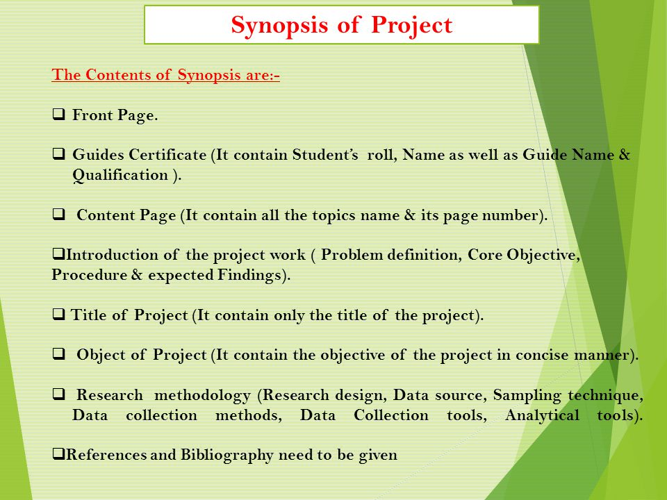 Step 9: (i) Once submitted, Project steering Committee will review your Synopsis submission and Guide Registration.