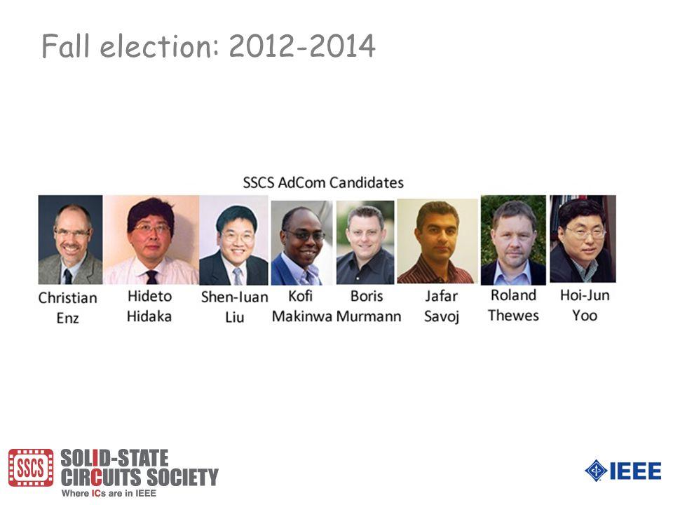Fall election: 2012-2014