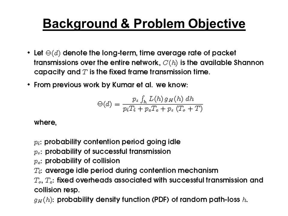 Background & Problem Objective