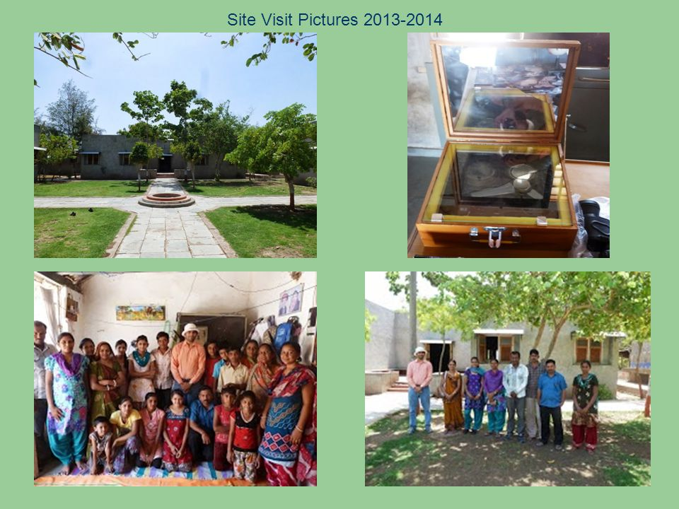 Site Visit Pictures 2013-2014
