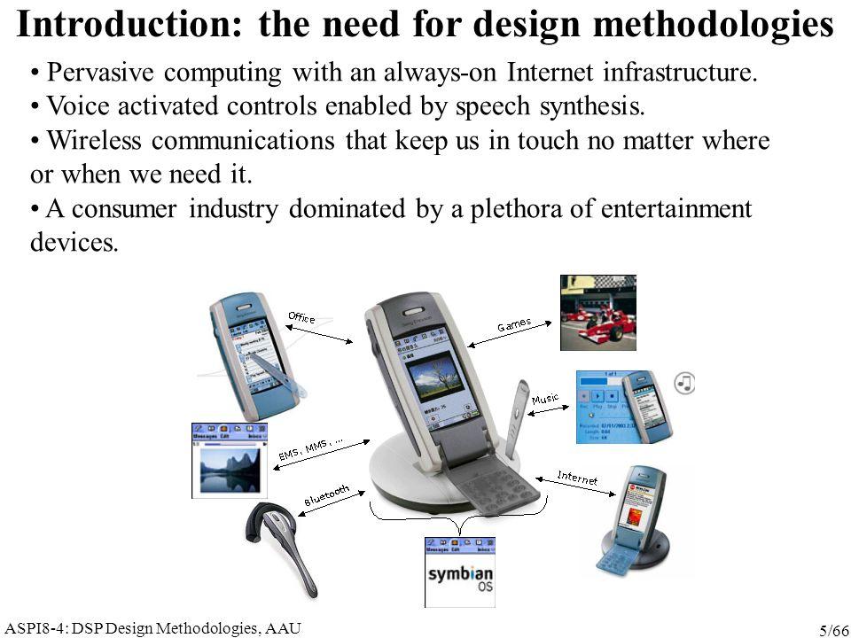 ASPI8-4: DSP Design Methodologies, AAU 36/66