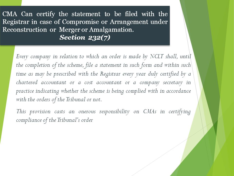 Every company in relation to which an order is made by NCLT shall, until the completion of the scheme, file a statement in such form and within such t