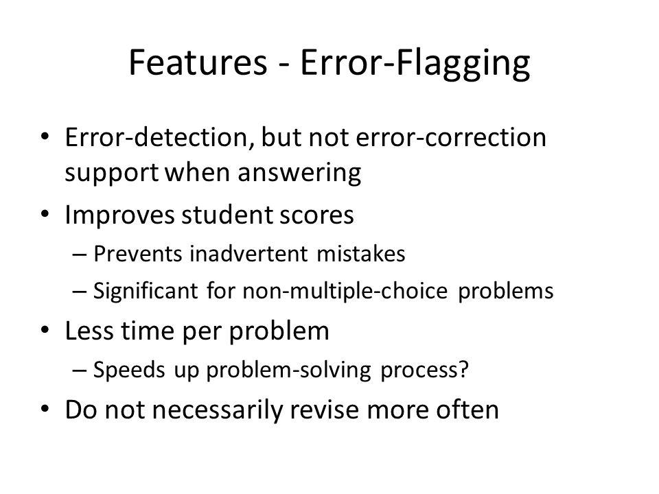 Evaluation Built-in pre-practice-post protocol.