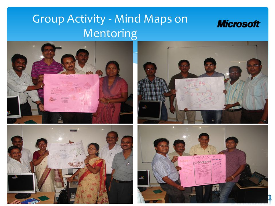 Group Activity - Mind Maps on Mentoring