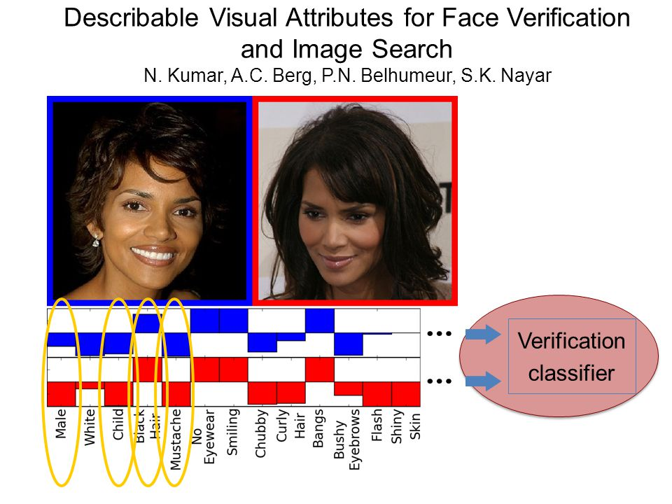 Describable Visual Attributes for Face Verification and Image Search N.