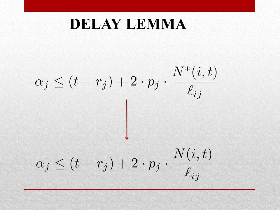 DELAY LEMMA