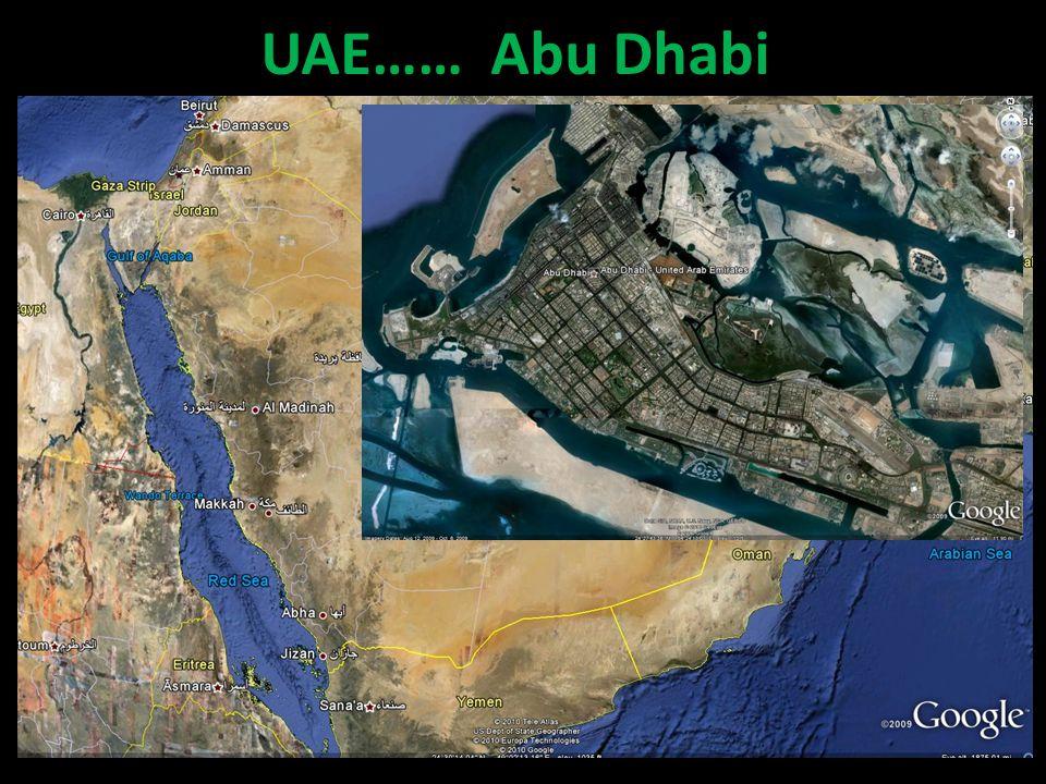 UAE…… Abu Dhabi