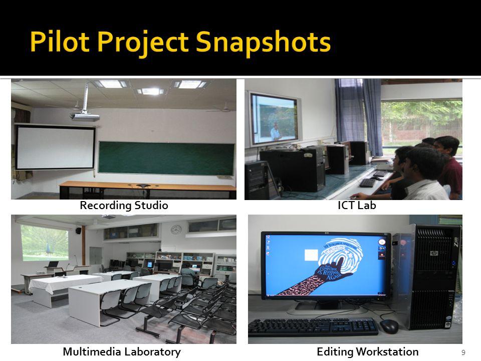 Recording StudioICT Lab Multimedia LaboratoryEditing Workstation 9
