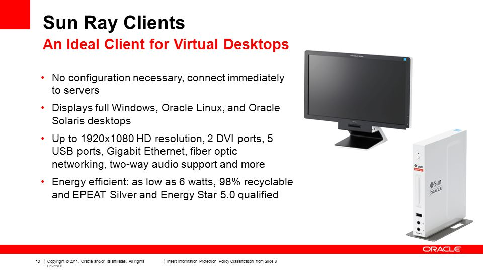 13Copyright © 2011, Oracle and/or its affiliates. All rights reserved.
