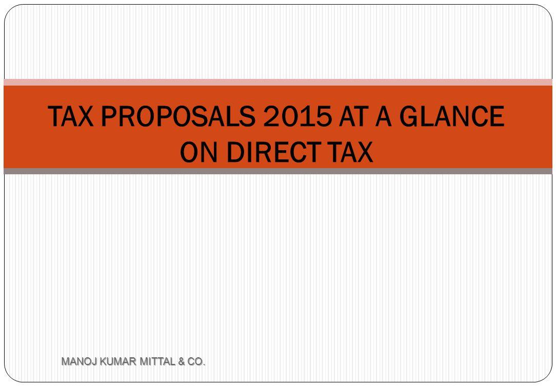 Section 32AD- Additional Investment allowance MANOJ KUMAR MITTAL & CO.