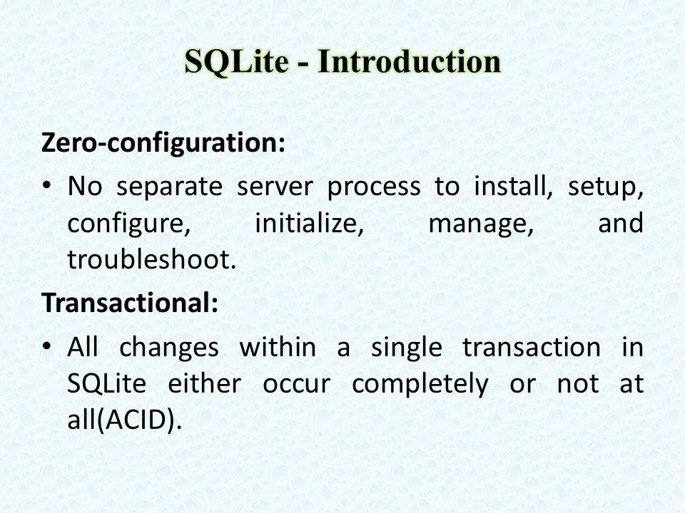 SQLite version 3.7.8 is less than 350KiB in size on x86 and less than 400KiB on x64.