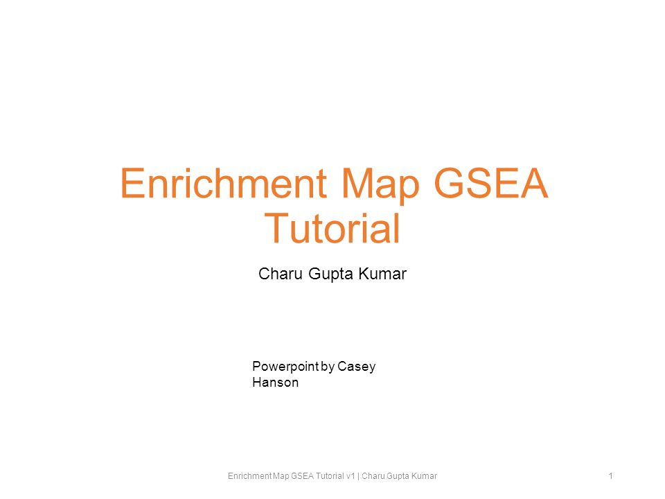 Step 5B: Configuring the GSEA Plugin Under Analysis, select GSEA.