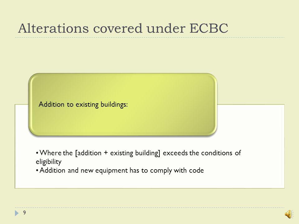 ECBC: Major implications Requires higher cost of envelopeRequires costlier lighting fixtures and controls 19
