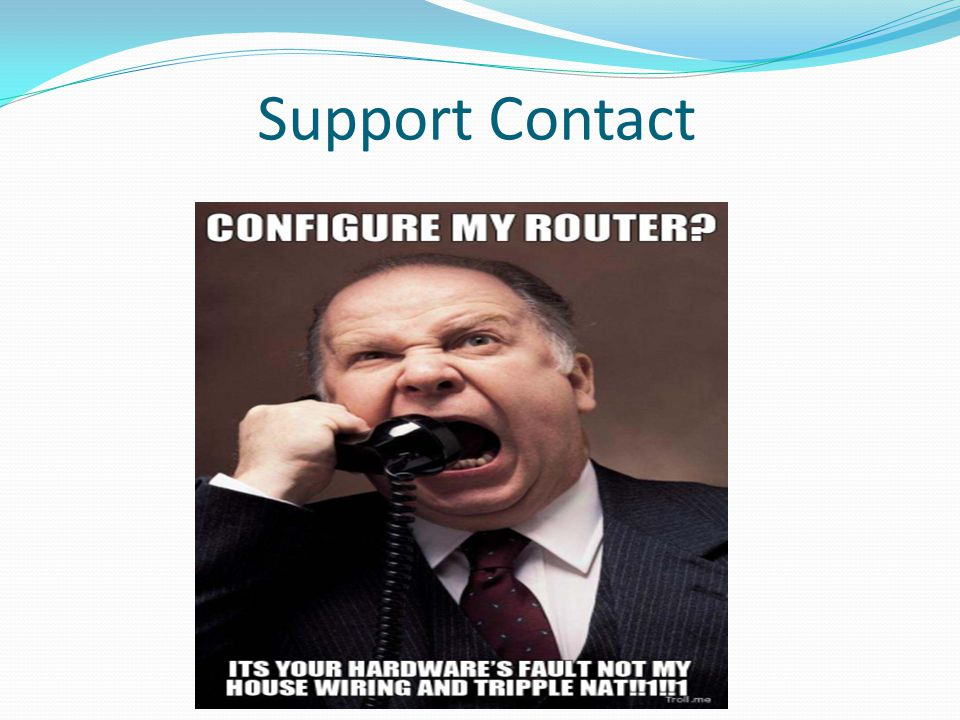 Support Contact