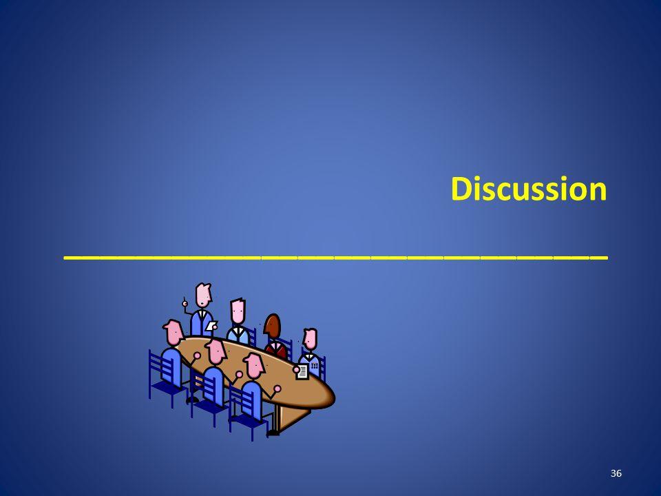 Discussion ______________________________ 36