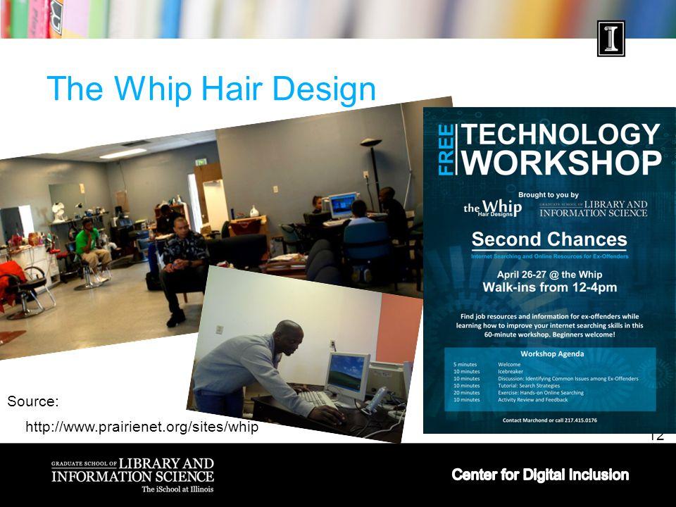 12 The Whip Hair Design Source: http://www.prairienet.org/sites/whip