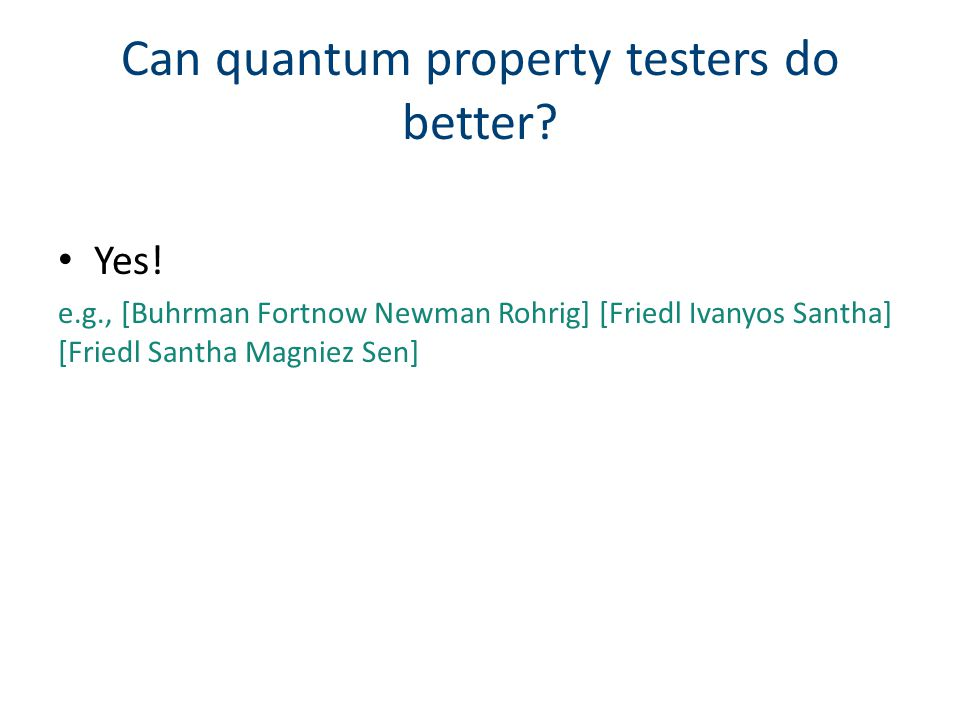 May only query labels of points from a sample Useful for model selection problem Active property testing [Balcan Blais Blum Yang]