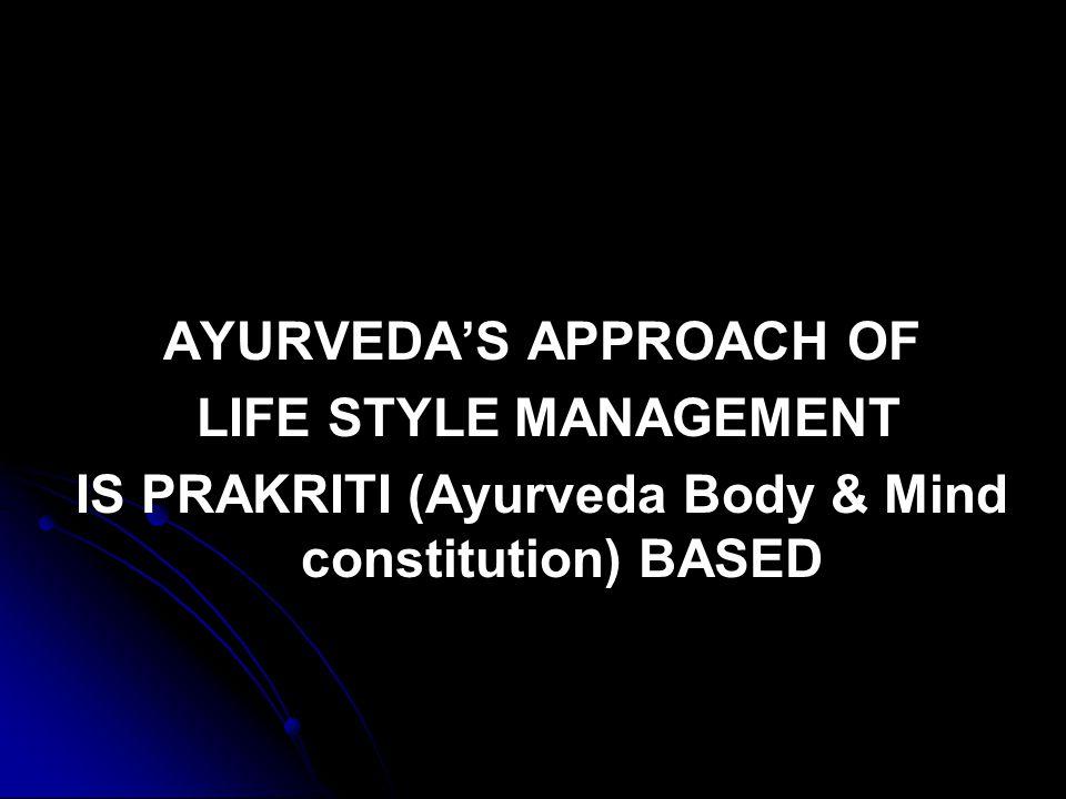 DIFFERENCES BETWEEN Ayurveda and Modern Medicine AYURVEDA AYURVEDA # Experiential Science.