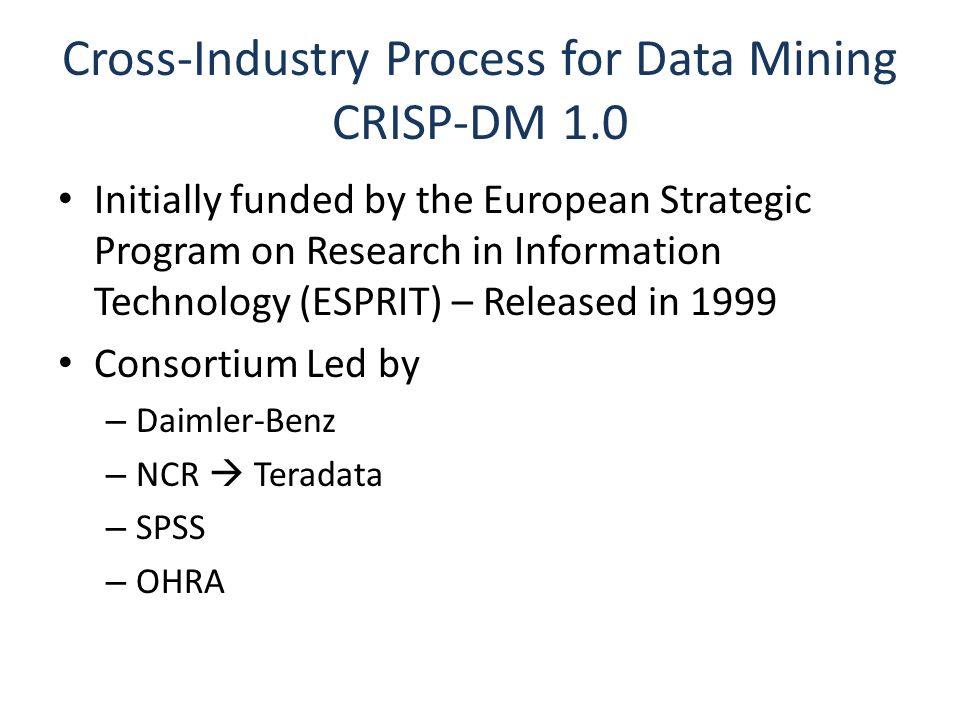 CRISP-DM & World-History Dataverse Multiple Domains Understanding and Collaboration: Goals.