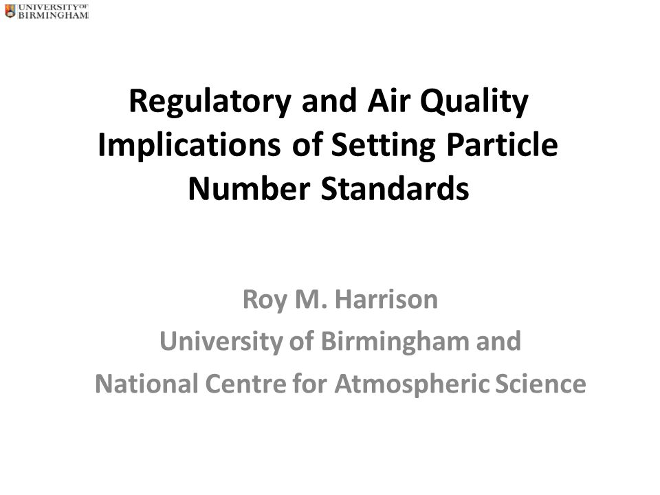 CONTENT Particle size distributions and the meaning of particle number concentration Sources and environmental behaviour of nanoparticles Epidemiology of nanoparticle exposures Conclusions