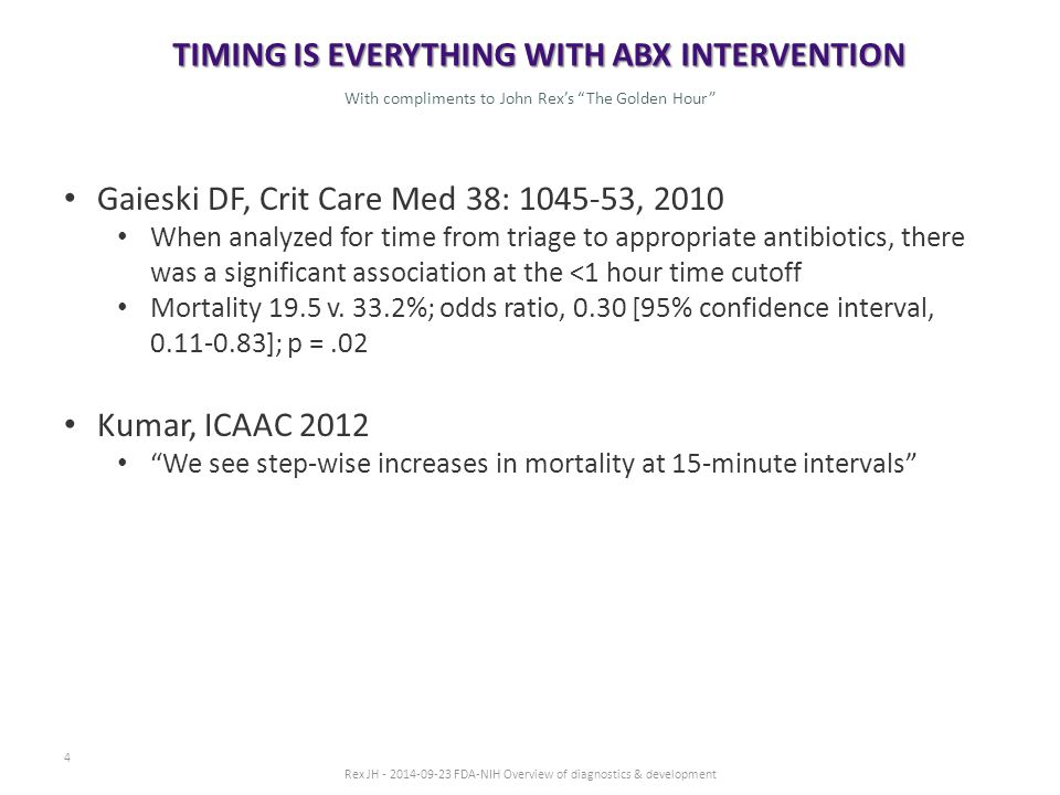 5 … IN CLINICAL AND CLINICAL TRIAL SETTINGS Antibiotics trials cost more and take longer than they should.