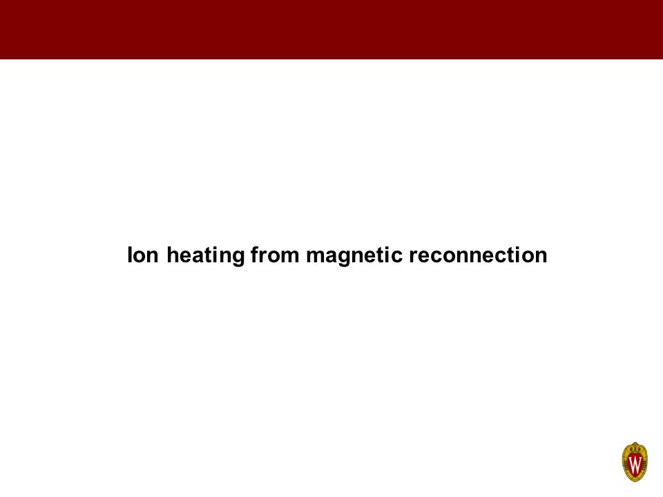 Ion heating from magnetic reconnection