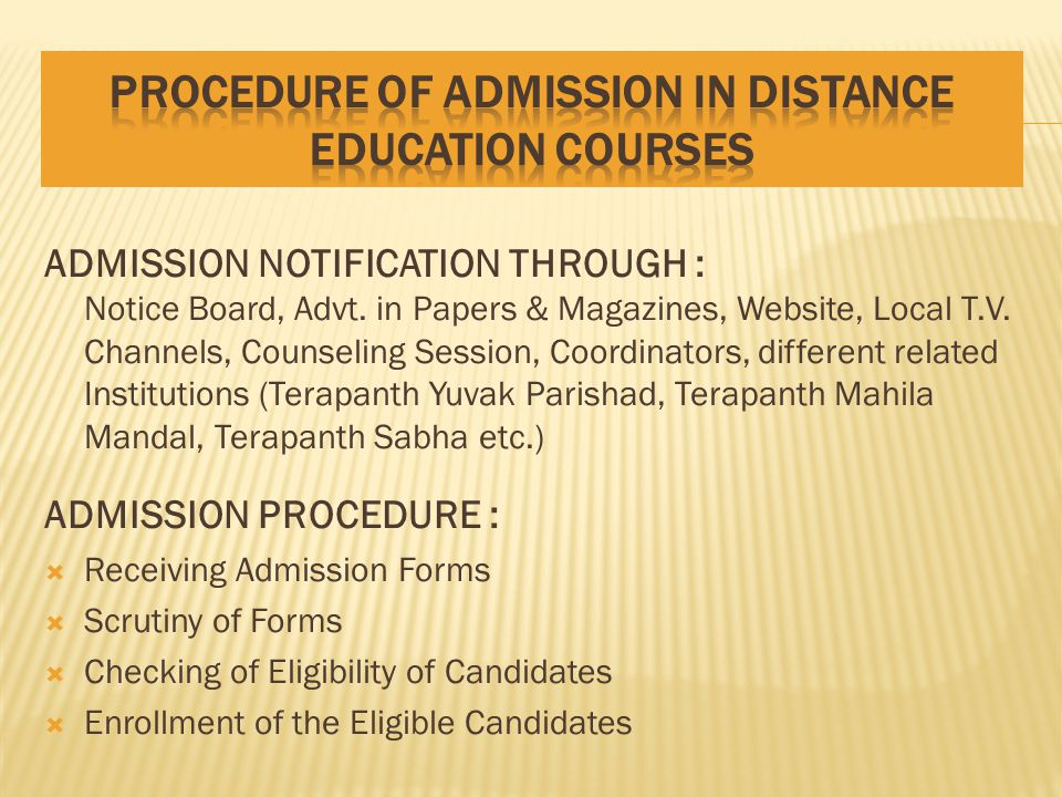 YEARWISE GROWTH OF STUDENTS IN DISTANCE EDUCATION COURSES