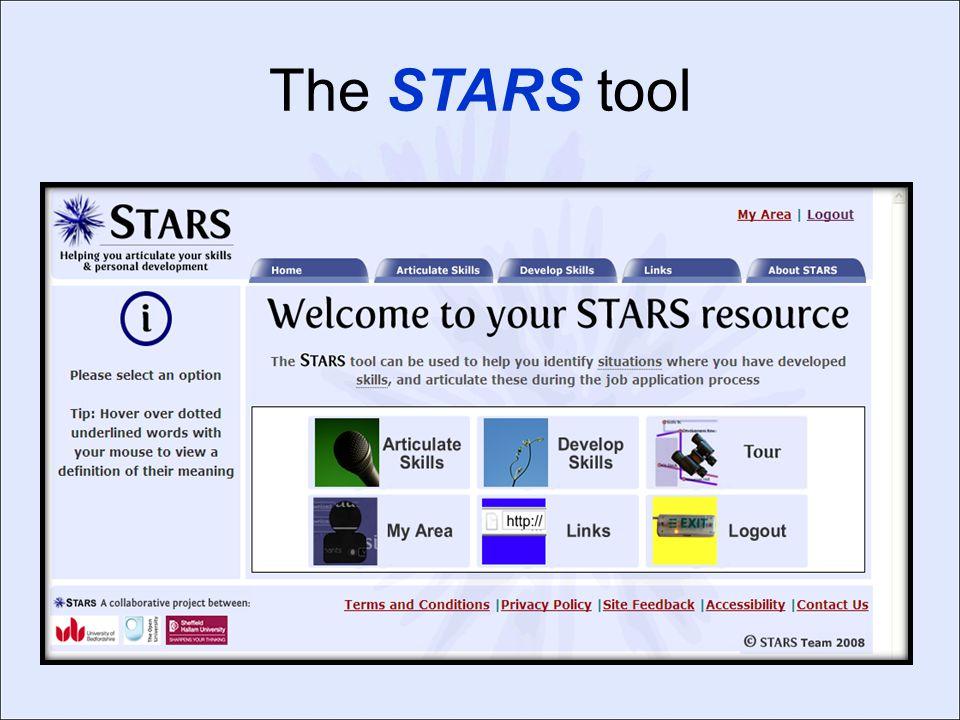The STARS tool