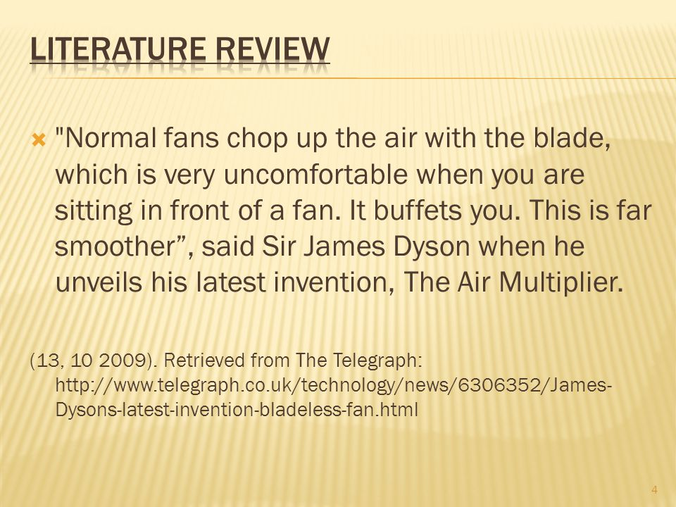  Normal fans chop up the air with the blade, which is very uncomfortable when you are sitting in front of a fan.
