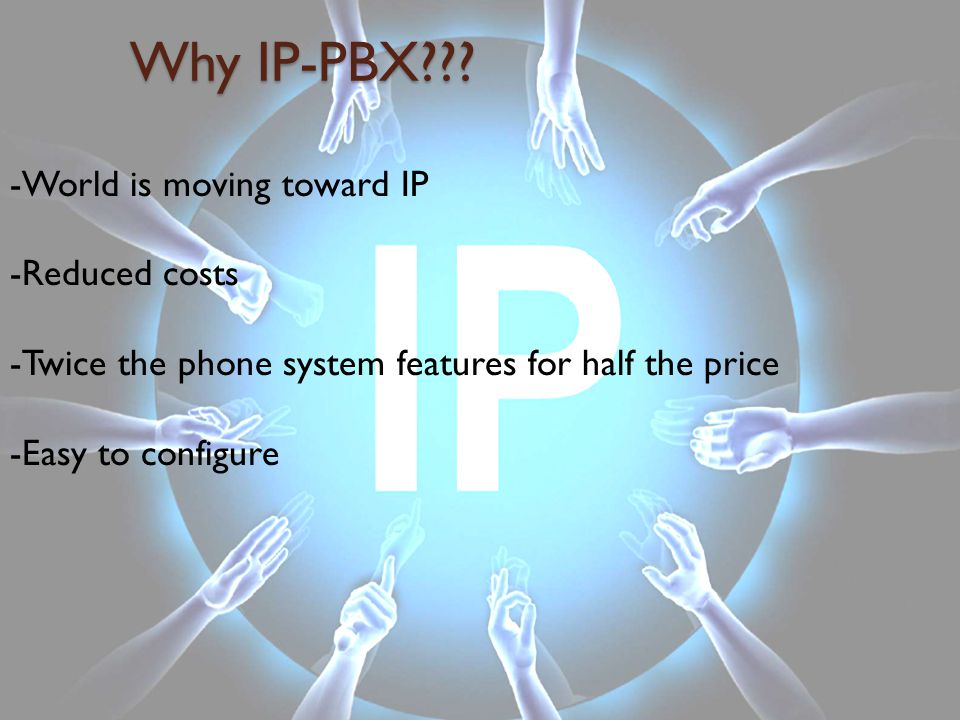 Why IP-PBX??.