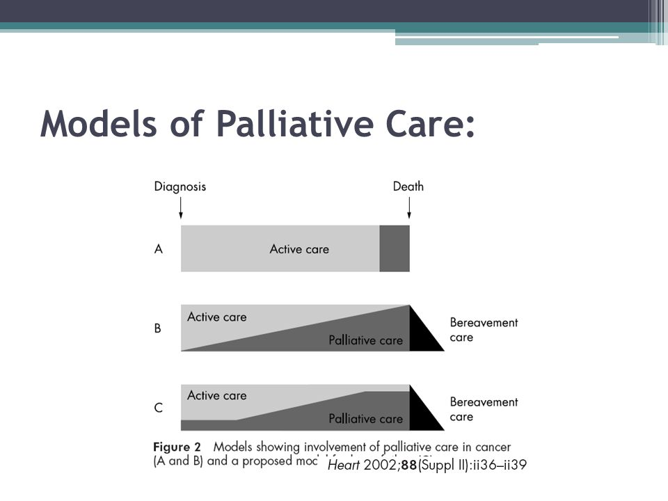 Our Patient: Case 1 No additional benefit of chemotherapy at the end of life ▫2 month improvement in overall survival when not initiated 2 wks before death ▫When initiated at end of life, median survival ≈ 30 days Chemotherapy at end of life 30% less likely to enter palliative care services Chemotherapy initiated at 14 days of death not reimbursed as incentive to decrease misuse BMC Palliat Care.BMC Palliat Care.