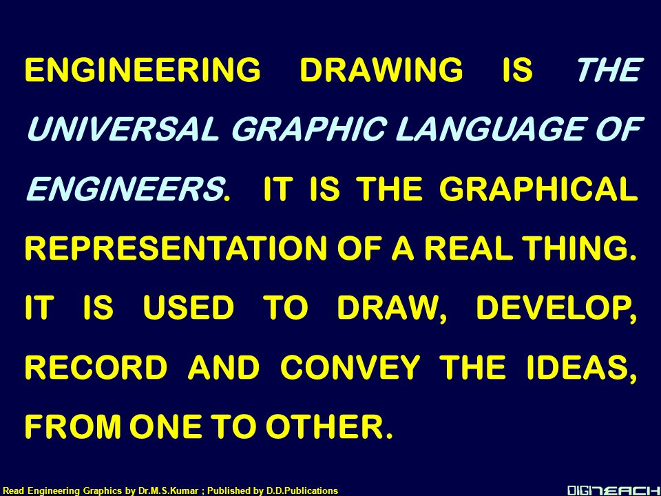 THANK YOU Read Engineering Graphics by Dr.M.S.Kumar ; Published by D.D.Publications Dr.