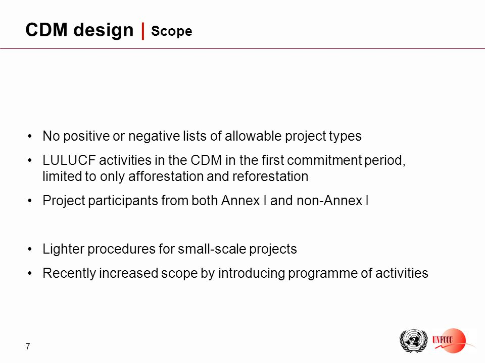 8 Project participantsDesign Operational entity Executive board Validation and registration Project participants Monitoring Operational entity Verification and certification Executive board CERs Issuance CDM design | A carefully designed project cycle