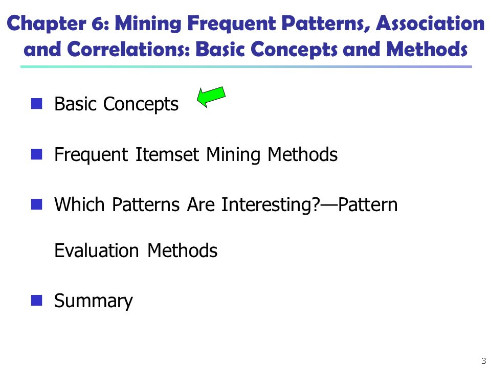 64 Ref: Basic Concepts of Frequent Pattern Mining (Association Rules) R.