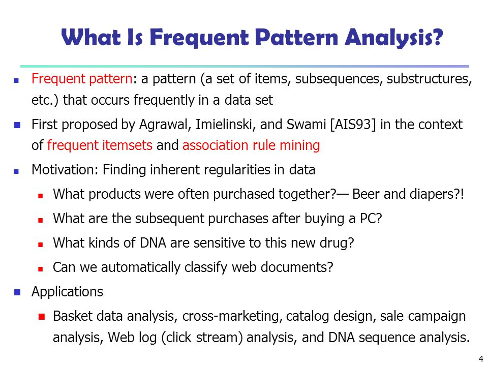 5 Why Is Freq.Pattern Mining Important. Freq.