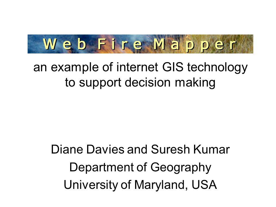 http://maps.geog.umd.edu ftp://maps.geog.umd.edu