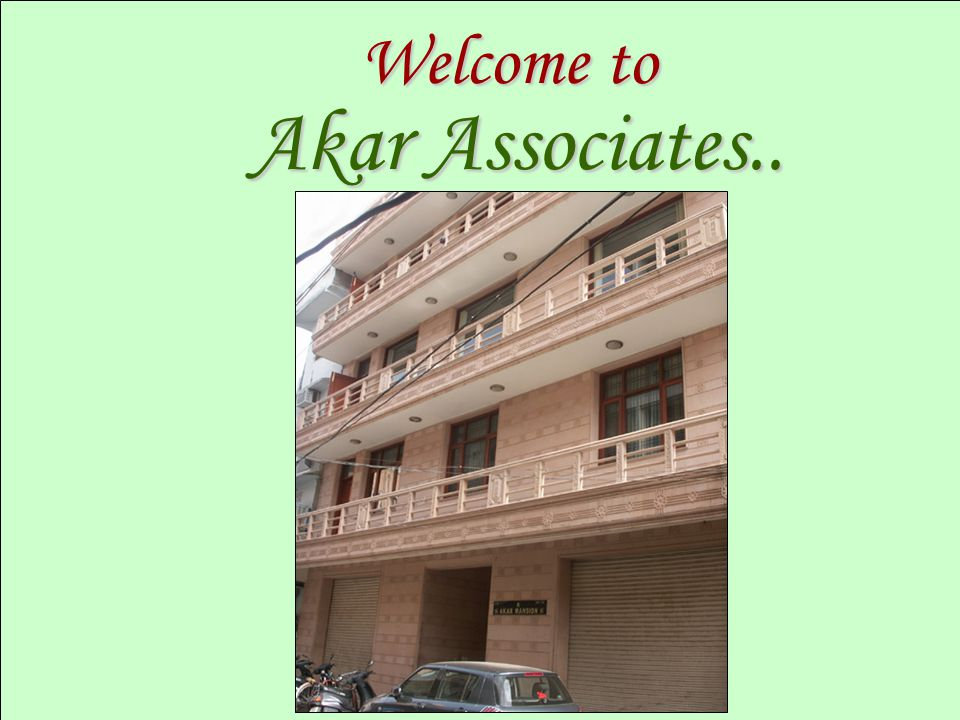Akar Associates.. Welcome to