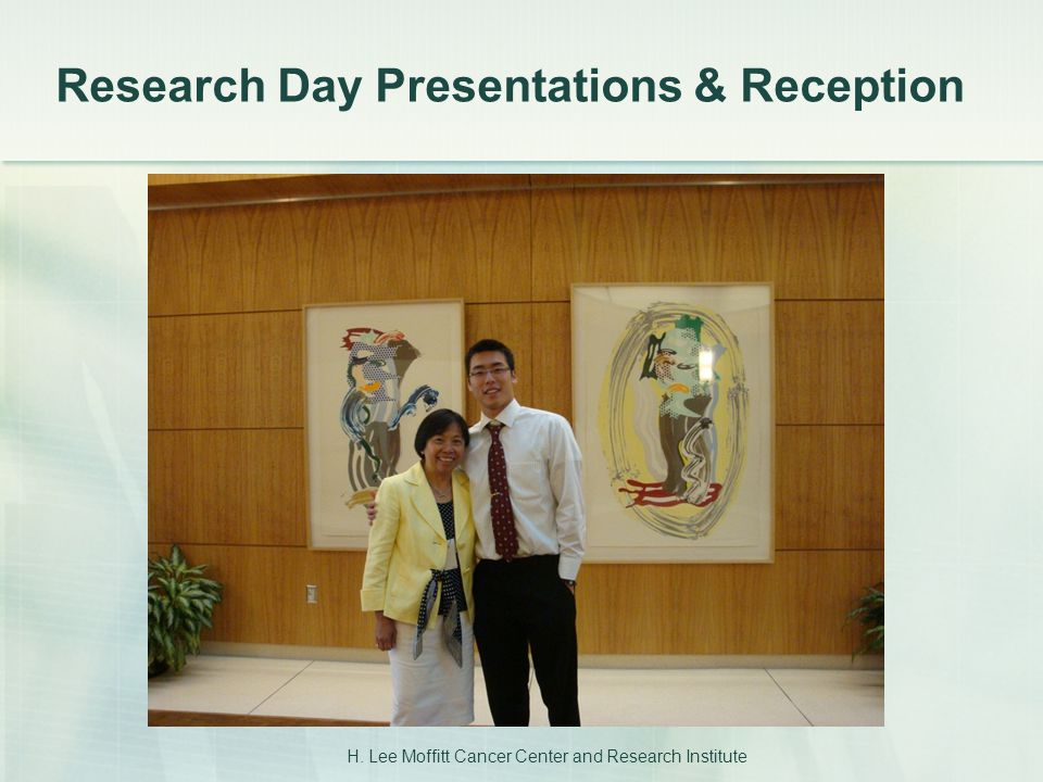 Research Day Presentations & Reception