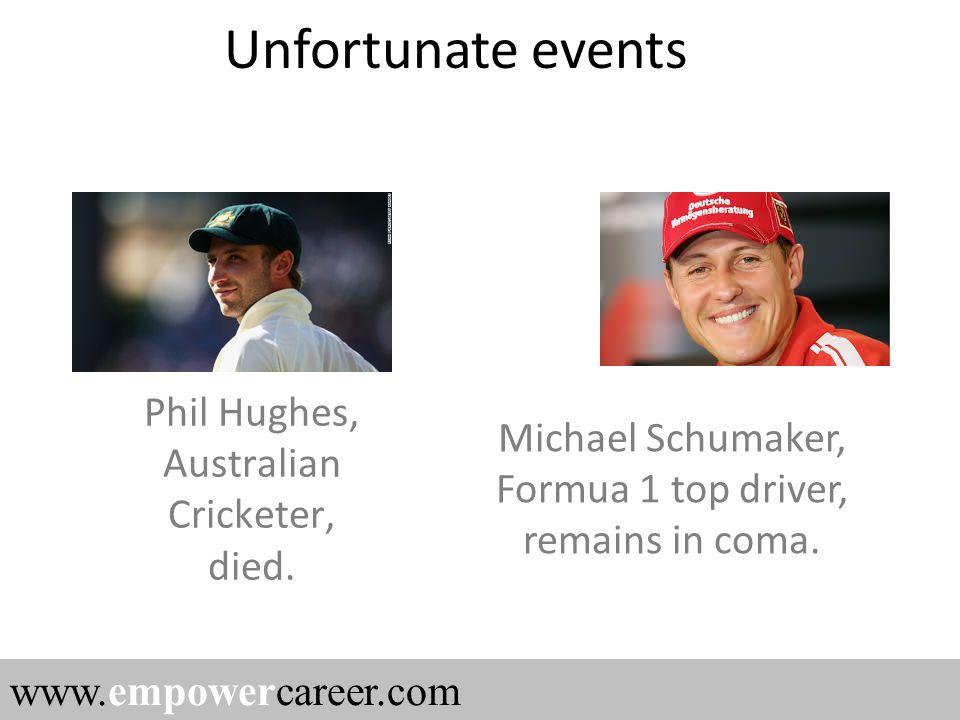 Phil Hughes, Australian Cricketer, died.