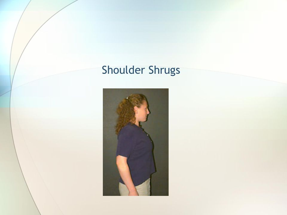 Shoulder Shrugs