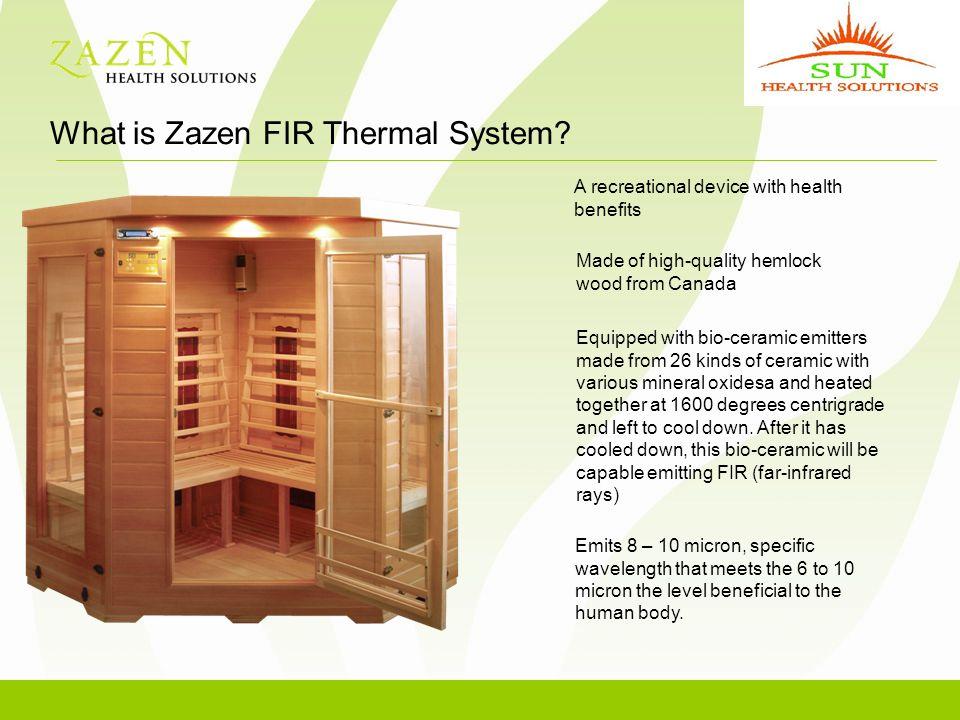 What is Zazen FIR Thermal System.