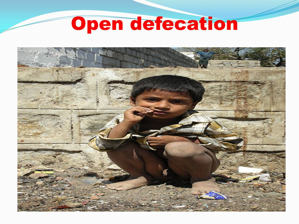 Open defecation