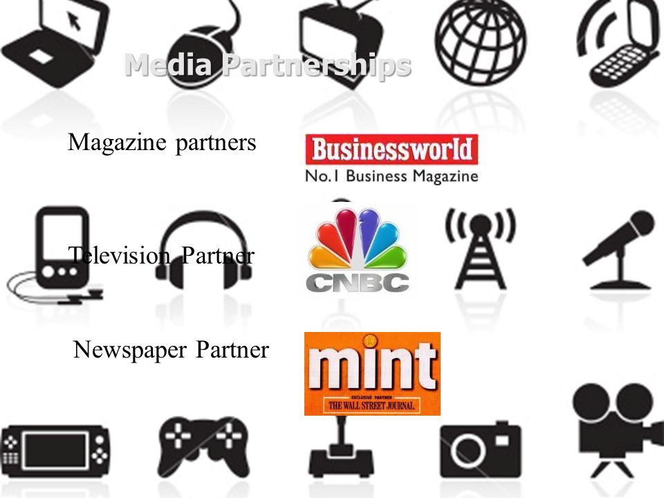 Media Partnerships Magazine partners Television Partner Newspaper Partner