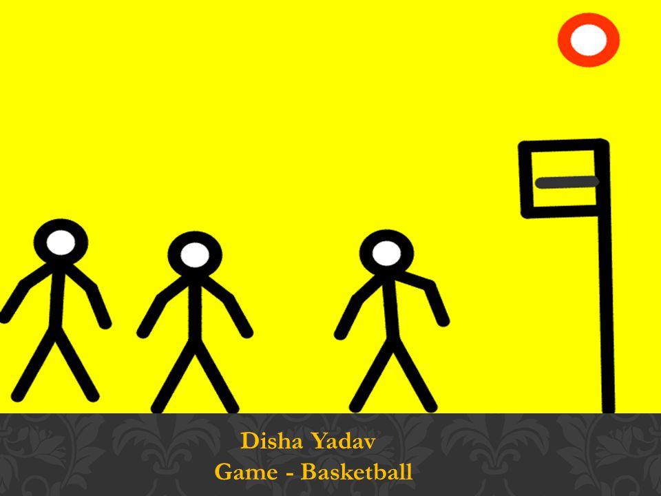 Disha Yadav Game - Basketball