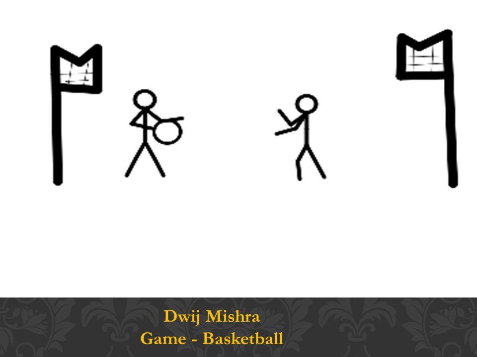 Dwij Mishra Game - Basketball