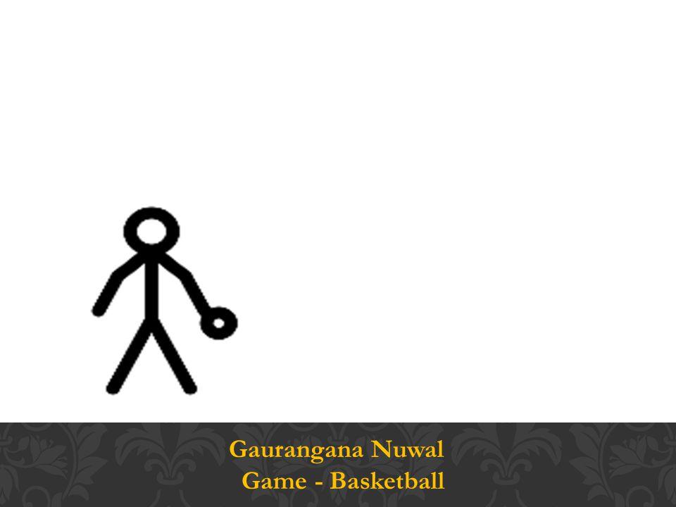 Gaurangana Nuwal Game - Basketball