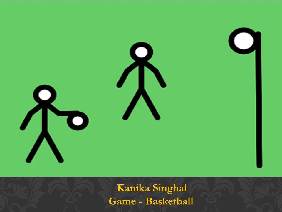 Kanika Singhal Game - Basketball