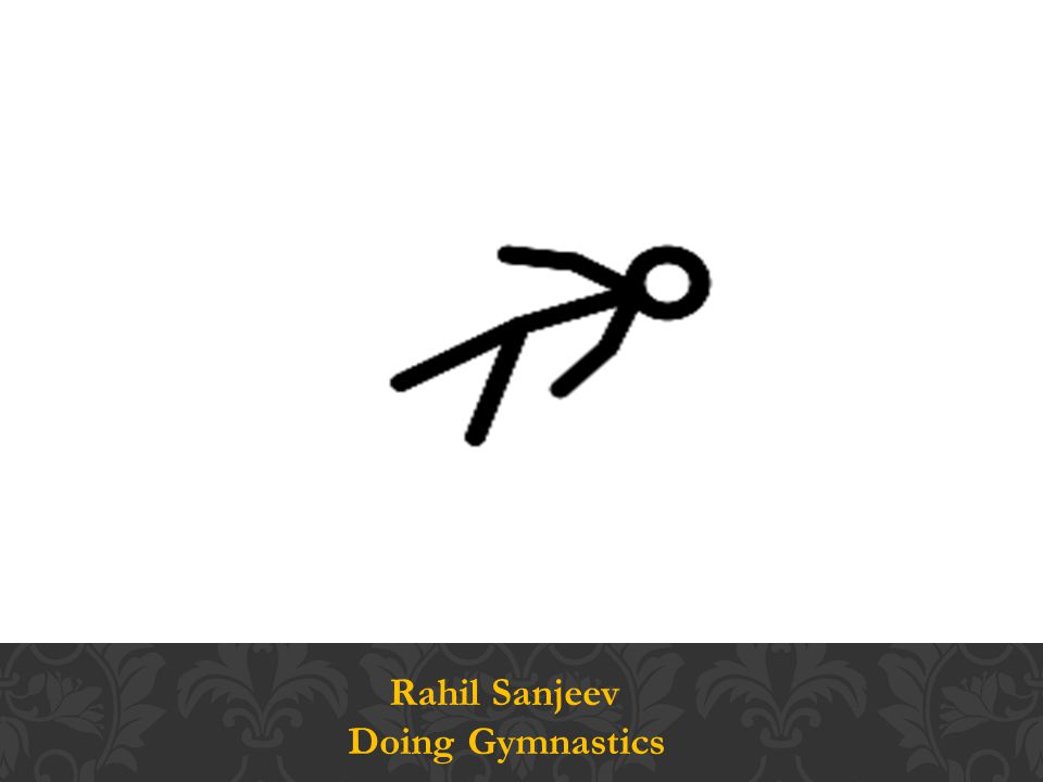 Rahil Sanjeev Doing Gymnastics