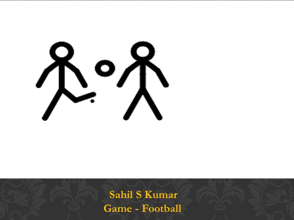 Sahil S Kumar Game - Football